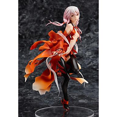 Anime Action Figurer Inspirert av Guilty Crown Inori Yuzuriha PVC 20 cm CM Modell Leker Dukke