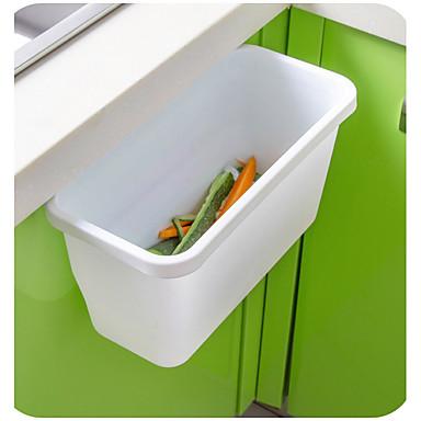 1pc Fundas y Tachos de Basura Plástico Fácil de Usar Organización de cocina