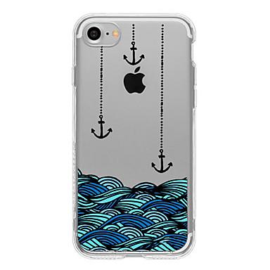 Etui Käyttötarkoitus Apple iPhone 5 kotelo iPhone 6 iPhone 7 Kuvio Takakuori Leikki Apple-logon kanssa Pehmeä TPU varten iPhone 7 Plus
