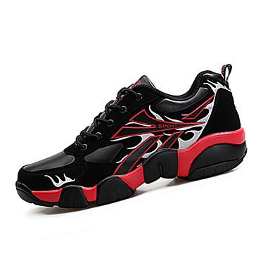 Herre sko PU Vår Høst Komfort Treningssko Svart Gul Rød Grønn Blå
