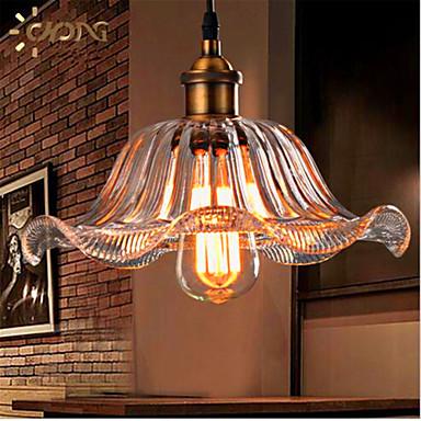 Retro Luzes Pingente Luz Ambiente - Cristal / Estilo Mini / Designers, 110-120V / 220-240V Lâmpada Incluída