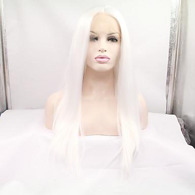 Syntetisk blonder foran parykker Rett Syntetisk hår Parykk Dame Naturlig parykk / Halloween parykk / Karneval Parykk Blonde Forside