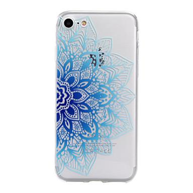 Etui Käyttötarkoitus Apple iPhone X iPhone 8 iPhone 5 kotelo iPhone 6 iPhone 7 Kuvio Koristeltu Takakuori Kukka Pehmeä TPU varten iPhone