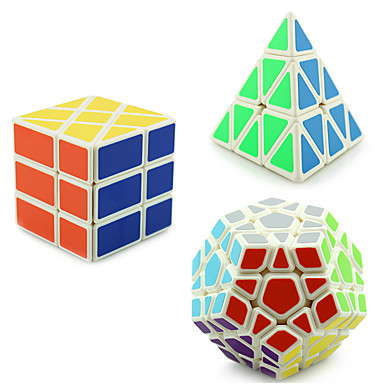 Rubiks kube YONG JUN Pyramid Alien MegaMinx 3*3*3 Glatt Hastighetskube Magiske kuber Kubisk Puslespill profesjonelt nivå Hastighet Gave