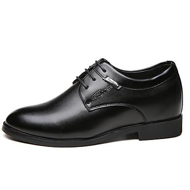 メンズ 靴 PUレザー 春 秋 コンフォートシューズ オックスフォードシューズ 用途 カジュアル ブラック