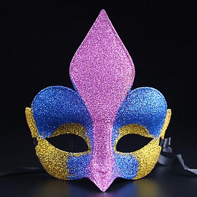 (Cor aleatória) 1pc dia das bruxas partido do traje ornamentos caixa de máscara toe