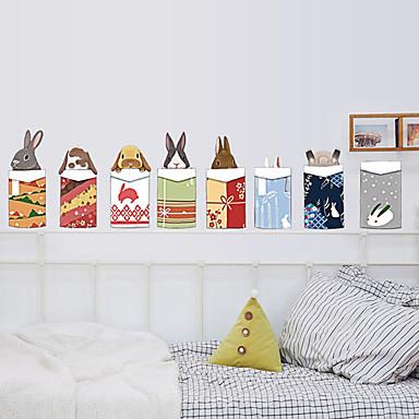 Dekorative Mur Klistermærker - Fly vægklistermærker Dyr / Mote / Jul Stue / Soverom / Leserom / Kontor / Kan fjernes