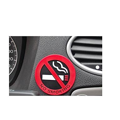 Logotipo não fumadores adesivos único bloco pricea de dez