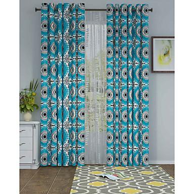 Eén paneel Window Behandeling Designer , Stippen Woonkamer Polyester Materiaal Curtains Drapes Huisdecoratie For Venster