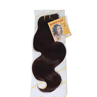Other Runsaat laineet Precolored Hair kutoo Hiukset kutoo Medium Auburn / Tumma kastanja / tumma viini