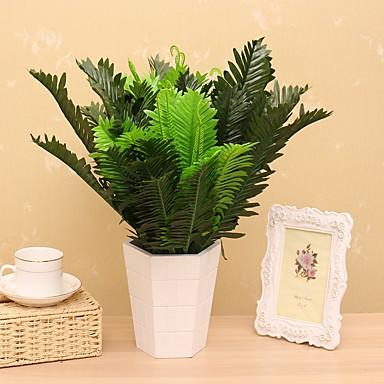 1 Tak Zijde Planten Bloemen voor op tafel Kunstbloemen