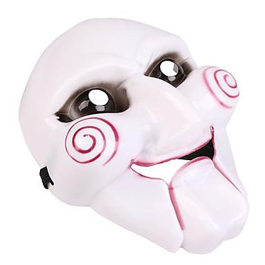 Máscaras de Halloween Joker / Terror El plastico / CLORURO DE POLIVINILO 1 pcs Piezas Adulto Regalo