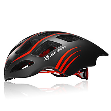 ROCKBROS バイクヘルメット 17 通気孔 サイクリング ハーフシェル 都市 マウンテン 超軽量(UL) スポーツ 青少年 EPS ロードバイク レクリエーションサイクリング サイクリング / バイク マウンテンバイク