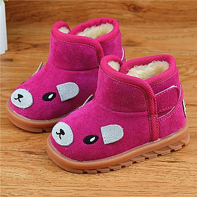 女の子 靴 フリース ブーツ 用途 カジュアル ブラック イエロー フクシャ ピンク
