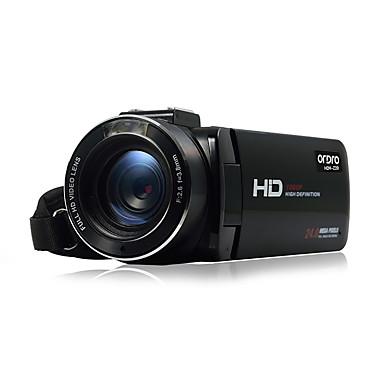 Other Plastic Multifunctionele Camera 1080P / Anti-schok / Smile Detection / Aanraakscherm / WIFI / Kantelbare LCD Zwart 2.8