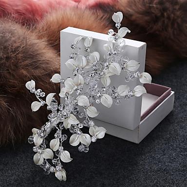 成人用 合金 人造真珠 かぶと-結婚式 パーティー カジュアル ヘアクリップ バンスクリップ 1個