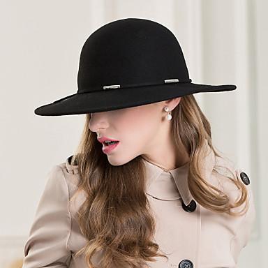 للمرأة خليط معدني صوف خوذة-زفاف مناسبة خاصة فضفاضسبور القبعات 1 قطعة