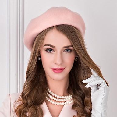 billige Hodeplagg til fest-Ull Kentucky Derby Hat / Hatter med 1 Bryllup / Spesiell Leilighet / Avslappet Hodeplagg