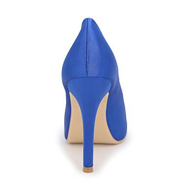 Aiguille ouvert Plateau Chaussures Strass Printemps 05417224 Mariage Talons Talon Argent Soie Eté à amp; Chaussures pour Evénement Bout Femme Soirée qF47Pzw8x