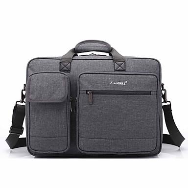 saco de mão de 17,3 polegadas multi-compartimento ombro laptop saco para dell / hp / Sony / acer / Lenovo / superfície etc