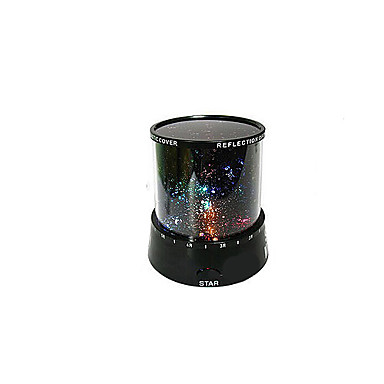 DIY Birthday Romantic Galaxy Starry Sky Projector Night Light for Celebrate Party