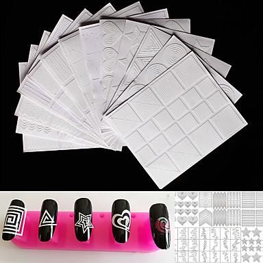 12pcs Nail Art Tool Encantador arte de uñas Manicura pedicura Dibujos / Herramientas de dibujo
