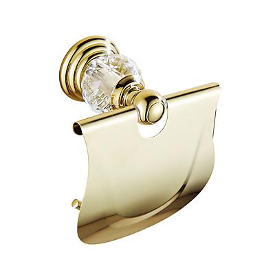 Toalettrullholder Moderne Messing Krystall 1 stk - Hotell bad