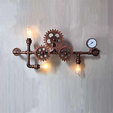 AC 100-240 180W E26/E27 Rústico/ Campestre / Retro / Cosecha Pintura Característica for Mini Estilo,Luz Ambiente Candelabro de paredLuz