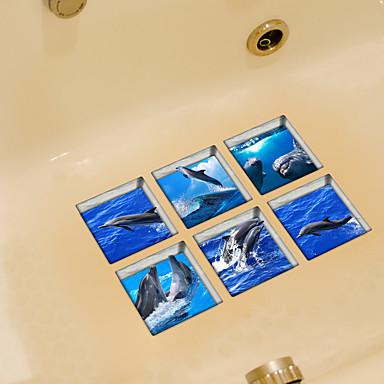 動物 ウォールステッカー プレーン・ウォールステッカー トイレステッカー, ビニール ホームデコレーション ウォールステッカー・壁用シール トイレ