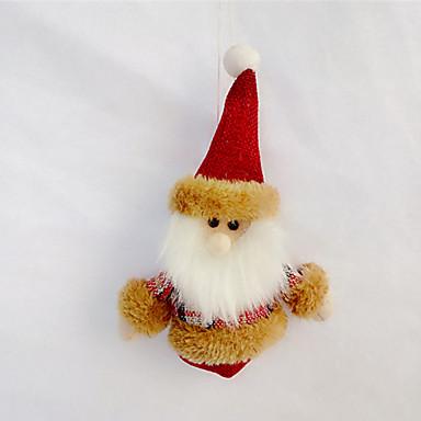 2stk tilfeldig farge har en festlig humør christmas ornament julegave dekorasjon anheng vegg calendary