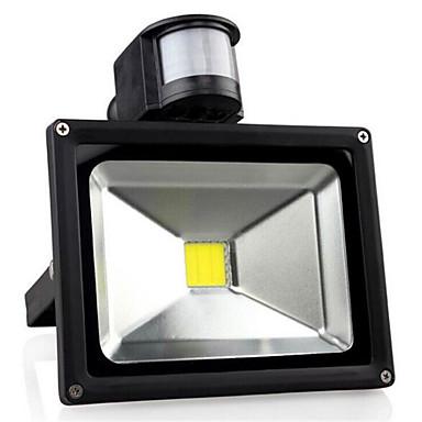 billige Utendørsbelysning-30w 3300lm ac85-265v høy kraft menneskekroppen induksjon ledet projeksjonslampe