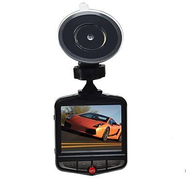 billige Bil Elektronikk-209 720p / HD 1280 x 720 / 1080p Bil DVR 140 grader Bred vinkel 2.4 tommers Dash Cam med Parkeringsmodus / Loop-opptak Bilopptaker
