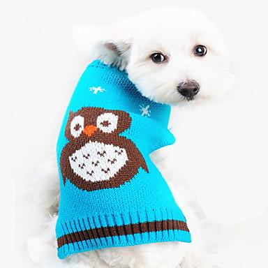犬 セーター 犬用ウェア 保温 動物 オレンジ ブルー コスチューム ペット用