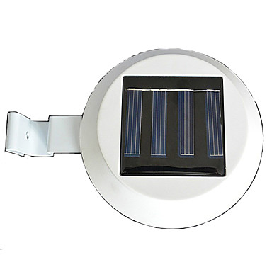 3 Led Solar Powered gard jgheab lumină în aer liber Garden Yard Wall modalitate Lamp (Cis-57155)
