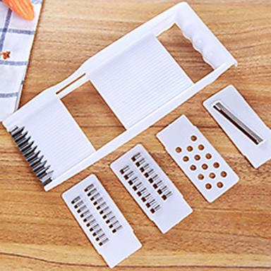 4 deler Gulrot / AgurkFor kjøkkenutstyr Plast / Rustfritt stål Multifunktion / Creative Kitchen Gadget