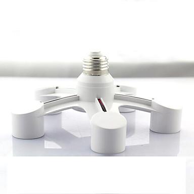 zweihnder 5 az 1-ben e27, hogy E27 LED lámpa izzók foglalat splitter adapter tartó fotó stúdió