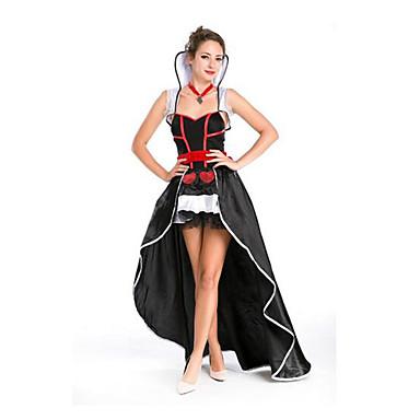 Naiset Halloween Joulu Karnevaali Festivaali/loma Halloween-asut Skottiruudutus