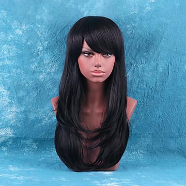 女性のためのエレガントなfashionnatural波人間の髪の毛のかつら
