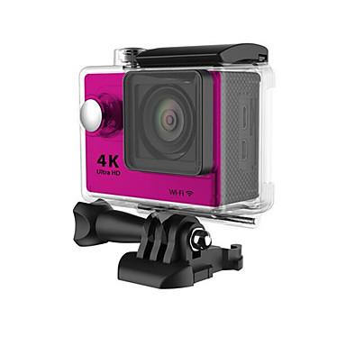 H9 Action Kamera / Sportskamera 16MP 4000 x 3000 Wifi Justerbar Vanntett Trådløs 30fps 4X ± 2EV 2 CMOS 32 GB H.264 Engelsk Fransk Tysk