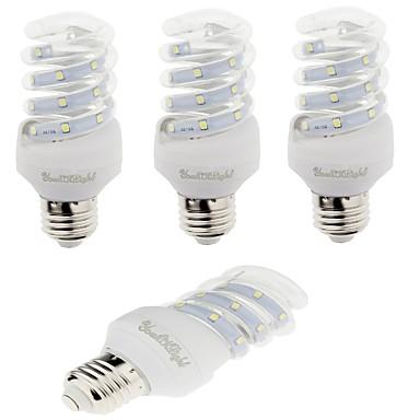 E26/E27 LED-maissilamput T 12 ledit SMD 2835 Koristeltu Lämmin valkoinen Kylmä valkoinen 420lm 3000/6000K AC 220-240V