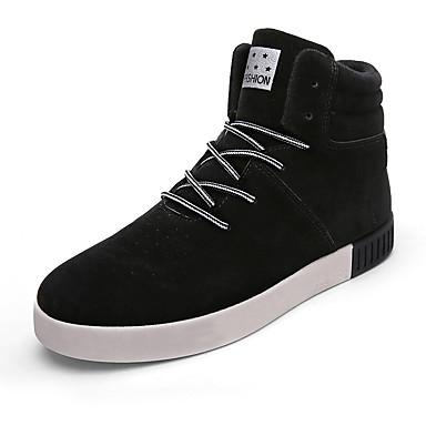 メンズ 靴 繊維 春 秋 冬 コンフォートシューズ ブーツ 用途 カジュアル ブラック グレー ブルー