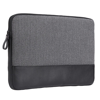 gearmax® manchon 13inch ordinateur portable / sac solide couleur grise