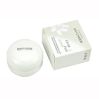 Concealer/Kontur Presset pulver Langtidsvarende Concealer Ujevn hudtone Naturlig Ansikt