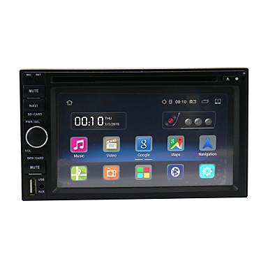 Quad Core Android 5.1.1  Universal Car Radio HD 1024*600 Resolution 6.2'' GPS Navigation/wifi/FM/BT