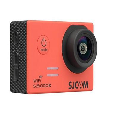 SJ5000X Action Kamera / Sportskamera 16MP 4000 x 3000 Wifi Justerbar Vanntett Trådløs 30fps 4X ± 2EV 2 CMOS 32 GB H.264 Engelsk Fransk