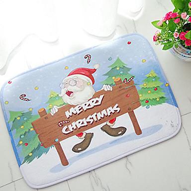 1pc tilfeldige husholdningsartikler har en festlig stemning jul balneal soverom sklisikker matte