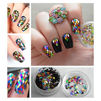 1 pcs Glitter & Poudre / Paljetti kiiltää / Muoti Päivittäin