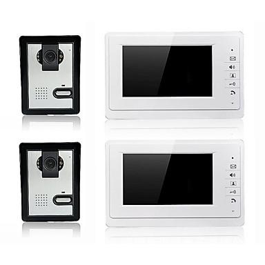 800 x 480 85 to 92 degrees CMOS Doorbell System Tilkoblet Opptak