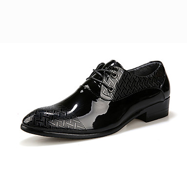 メンズ 靴 PUレザー 冬 コンフォートシューズ オックスフォードシューズ 編み上げ 用途 カジュアル ブラック