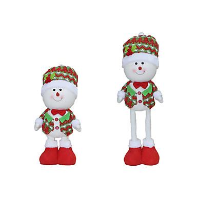 Spielzeug für Weihnachten Geschenktaschen Urlaubszubehör 3Pcs Weihnachten Gewebe Rot Weiß Gelb